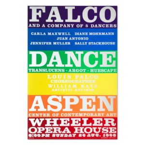 Robert Indiana, Falco Dance Company