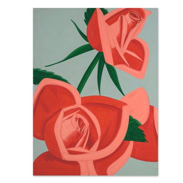 Alex Katz, Rose Bud