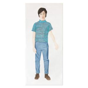 Alex Katz, The Striped Shirt