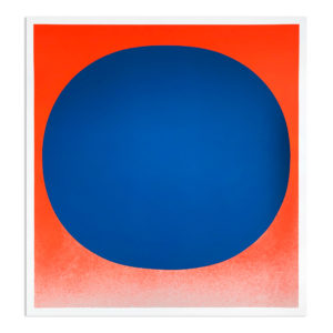 Rupprecht Geiger, Blue on Orange