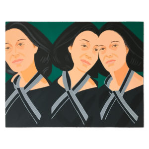 Alex Katz, Grey Ribbon