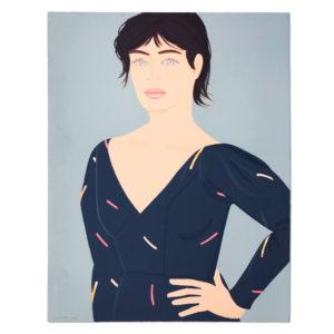 Alex Katz, Grey Dress