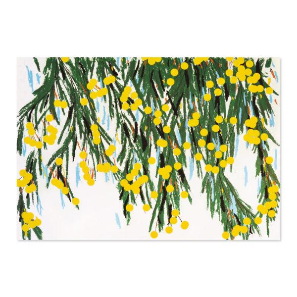 Donald Sultan, Yellow Mimosa