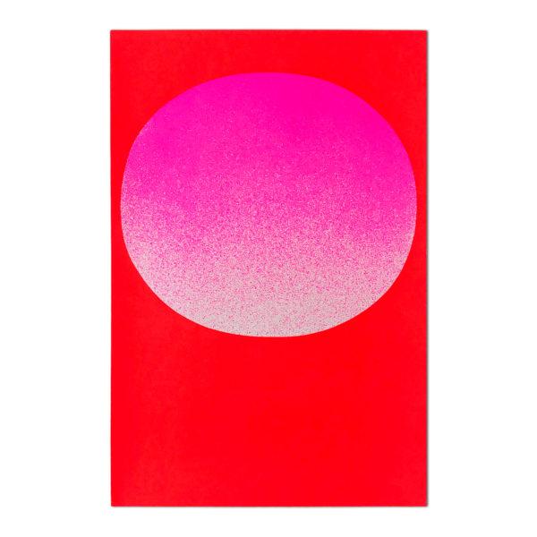 Rupprecht Geiger, Pink on Red (from Modulation)