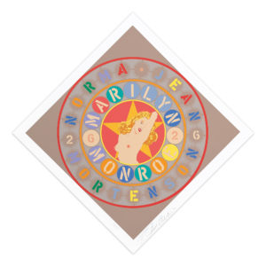 Robert Indiana, The Metamorphosis of Norma Jean Mortenson
