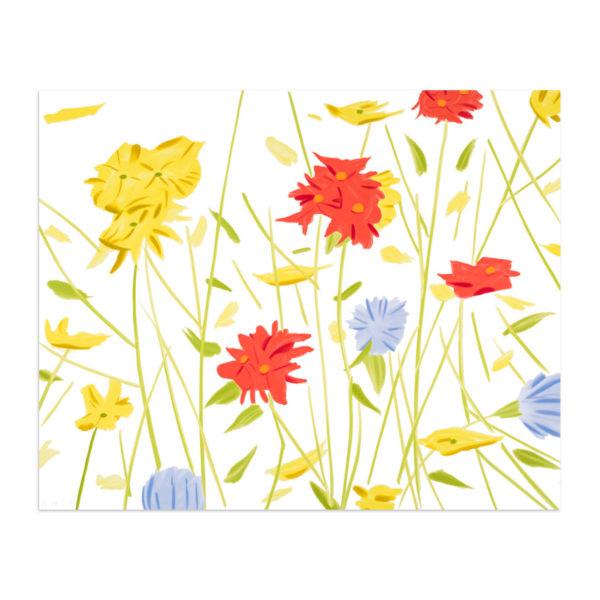 Alex Katz, Wildflowers