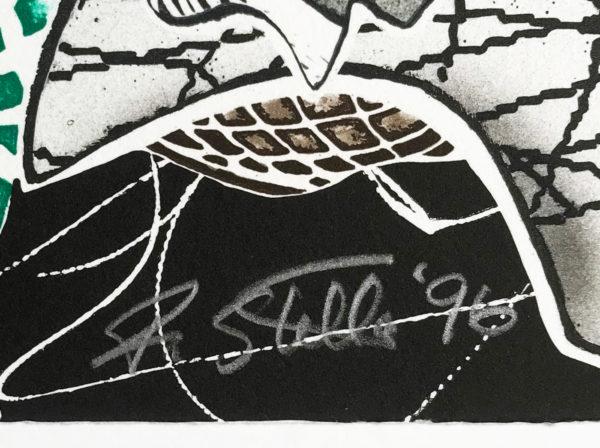Frank Stella, Hudson River Valley