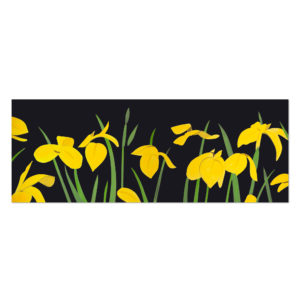 Alex Katz, Yellow Flags 2