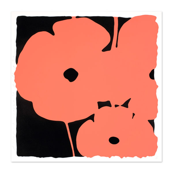 Donald Sultan, Coral Poppies