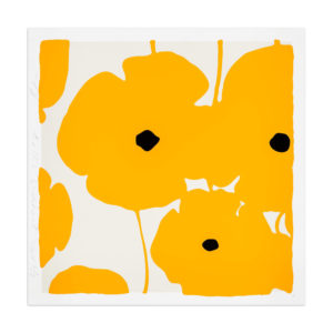 Donald Sultan, Yellow Poppies