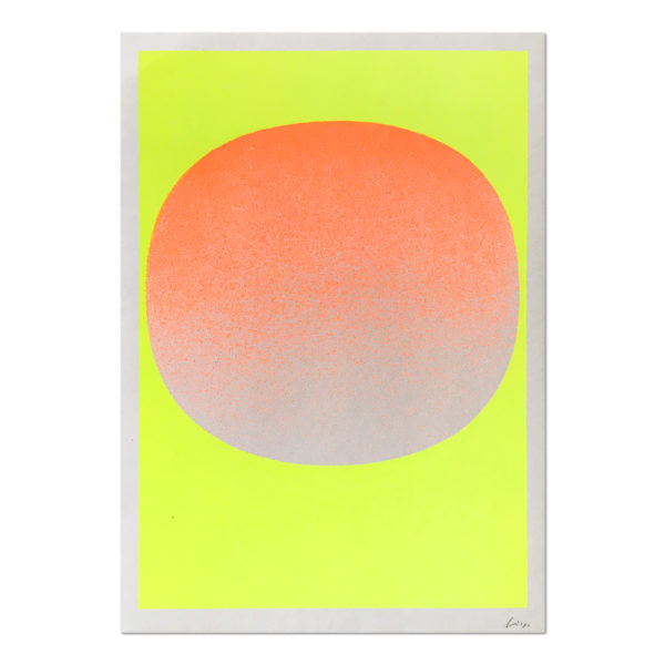 Rupprecht Geiger, Orange on Yellow
