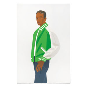 Alex Katz, Green Jacket