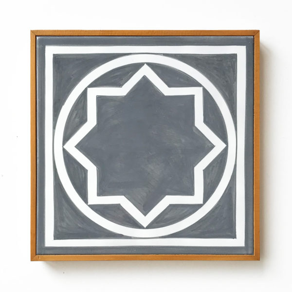 Sol Lewitt, Ceramic Tile (Grey)