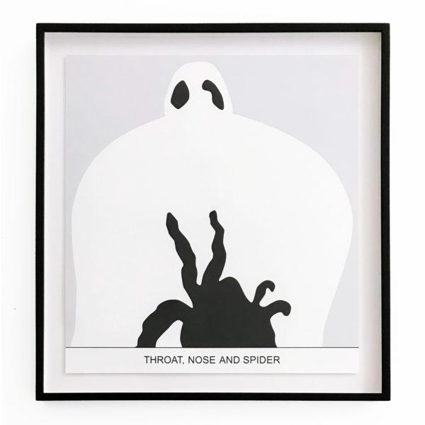 John Baldessari, Sediment: Throat, Nose and Spider