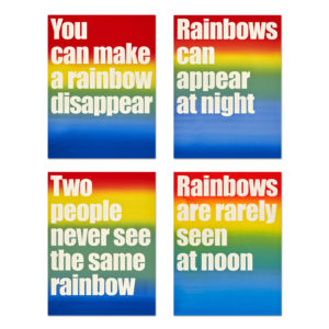 Olaf Nicolai, Rainbows...