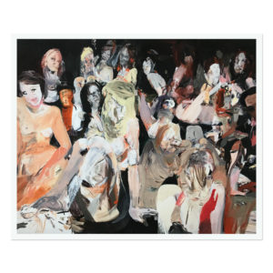 Cecily Brown, All the Nightmares Came Today