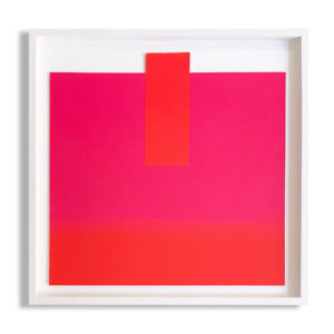 Rupprecht Geiger, Orange on Pink and Red