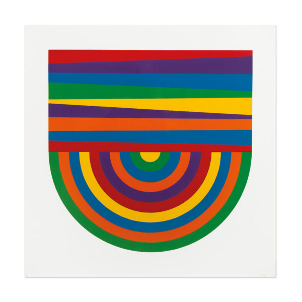 Sol LeWitt, Arcs and Bands in Color
