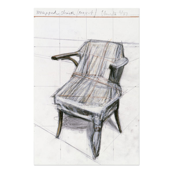Christo, Wrapped Chair