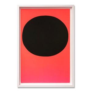 Rupprecht Geiger, Black on Orange Red