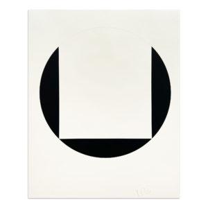 Leon Polk Smith, Quadrat im Kreis