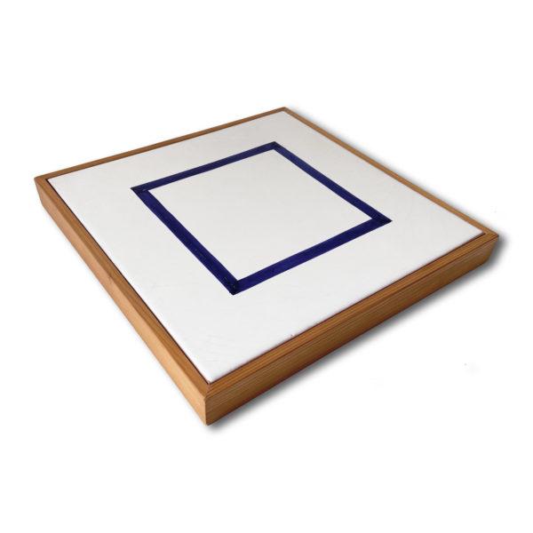 Sol Lewitt, Blue Square (Ceramic)