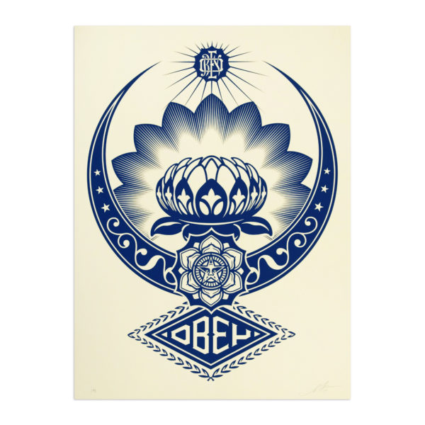 Shepard Fairey, Lotus Ornament