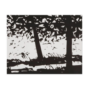 Alex Katz, Maine Woods 1