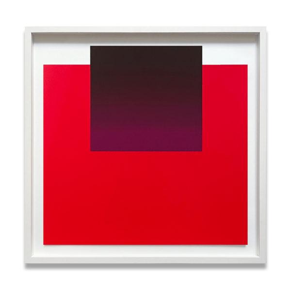 Rupprecht Geiger, Violet on Red