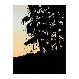 Alex Katz, Sunset 1