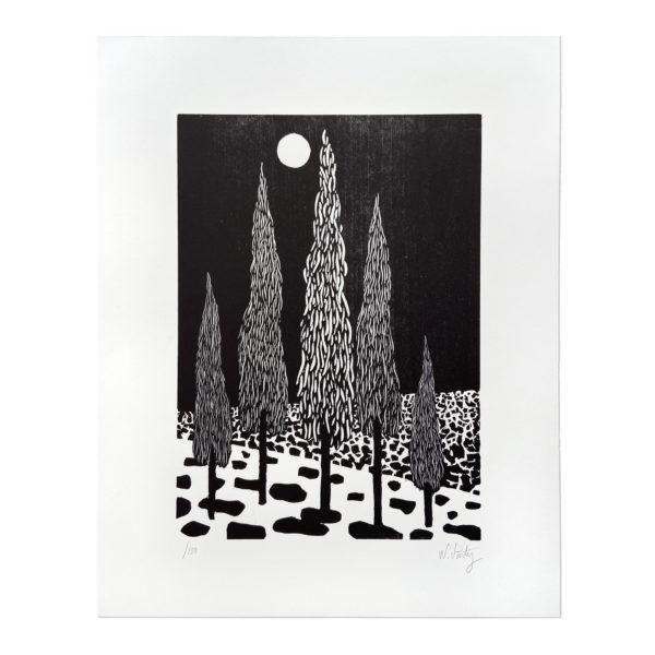Nicolas Party, Trees