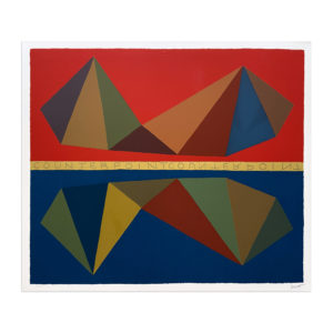 Sol Lewitt, Two Asymmetrical Pyramids