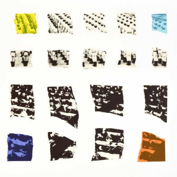 John Baldessari, Two Assemblages (Transparent)