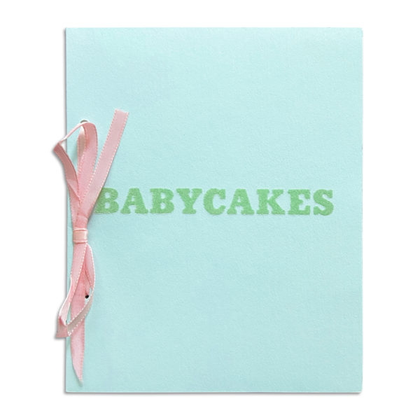 Ed Ruscha, Babycakes with Weigths