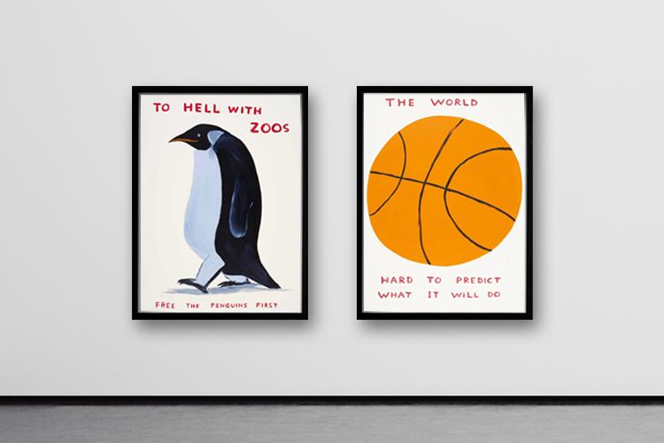Buy David Shrigley Prints